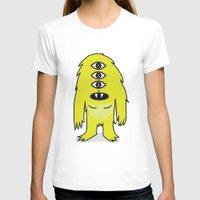sasquatch T-shirts featuring Alien Sasquatch by Zak Rutledge