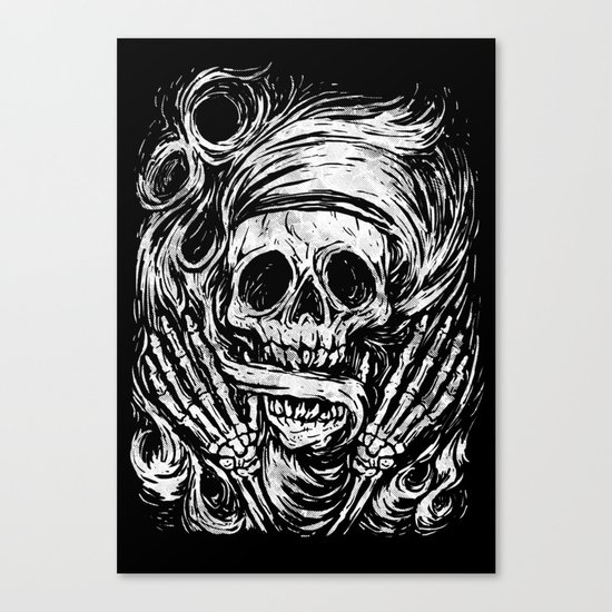 flowing ashes Canvas Print