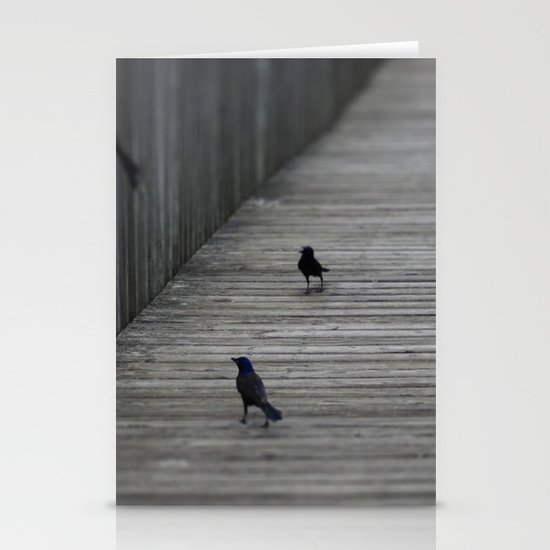 Black Birds Stationery Cards