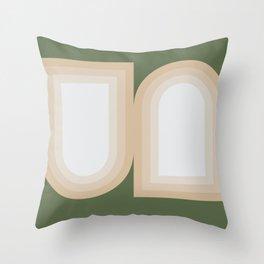 Contemporary Composition 13 Throw Pillow