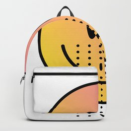 Acid House - Smile Face - Smiley Face - Emoji Backpack