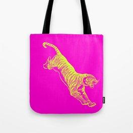 Tiger Running Tote Bag