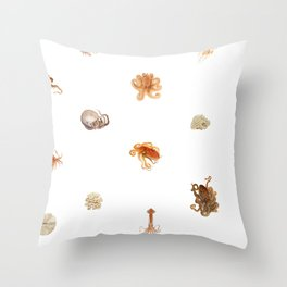 Color Marine Pattern 10 Throw Pillow