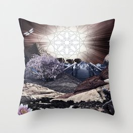 CREATURE OF THE UNIVERSE Throw Pillow