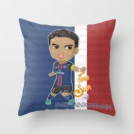 Thiago Captain Throw Pillow