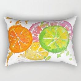 Citrus Burst! Rectangular Pillow