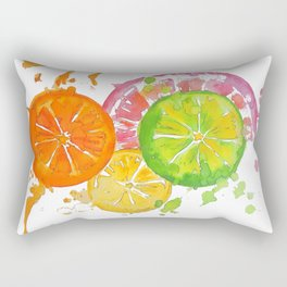 Citrus Burst! Rectangular Pillow