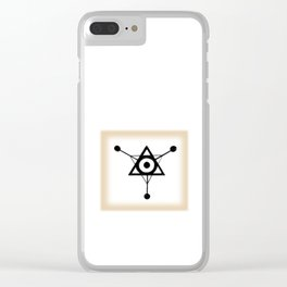 SCOUT SHIP Clear iPhone Case