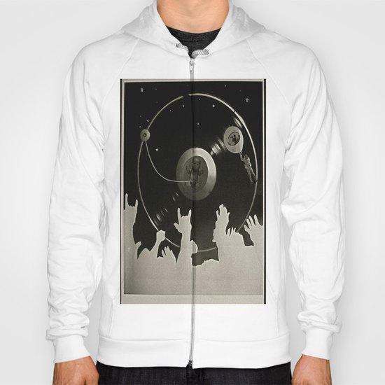 "Side B: ""Out There"" Hoody"