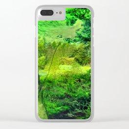 Temperate Jungle Home Clear iPhone Case