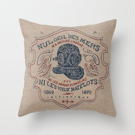 Scaphandre Throw Pillow