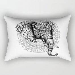 Mandala Elephant Rectangular Pillow