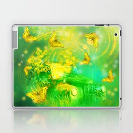 Dream wreck with butterflies Laptop & iPad Skin