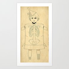 Little Tin Man Art Print