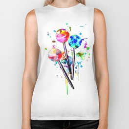 Lollipops Biker Tank