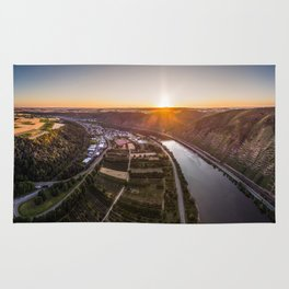 Sunse above the Mosel Rug