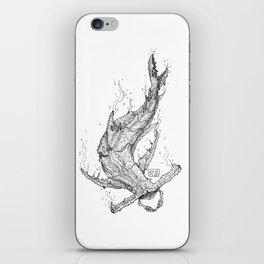 Crab - Shark iPhone Skin