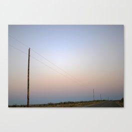 Electric Lines Canvas Print