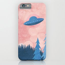 Unidentified Flying Object iPhone Case