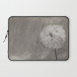 Charcoal Flower Laptop Sleeve
