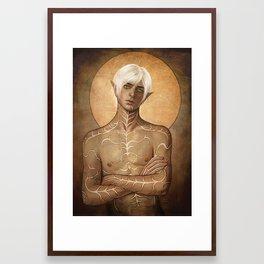 Fenris Framed Art Print