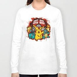 Zombiemon Long Sleeve T-shirt