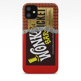 WONKA BAR Minimalist iphone case