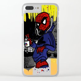 Spidey Can Clear iPhone Case