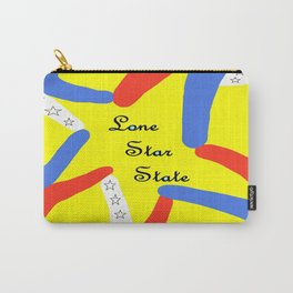 Lone Star State of Texas Carry-All Pouch