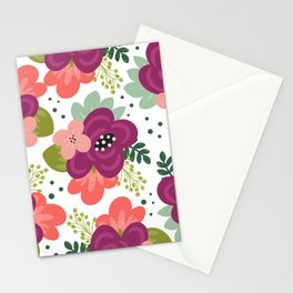 Blooming Florals Stationery Cards