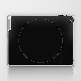 The White Circle Laptop & iPad Skin