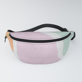 Pastel Waves Fanny Pack