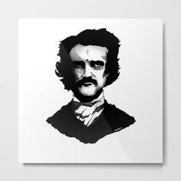 Edgard Allan Poe Metal Print
