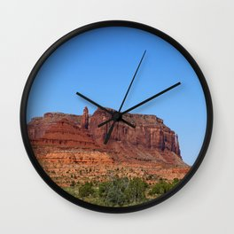 Traveling On Highway 123 Wall Clock