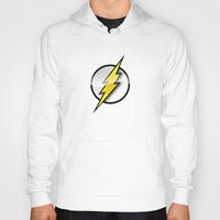 flash Hoodies featuring FLASH by neutrone