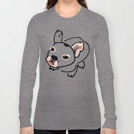 French Bulldog Pup Drawing Long Sleeve T-shirt