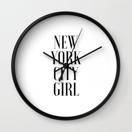 PRINTABLE ART,New York Print,New York Poster,Wall Art,Nyc City Poster,NYC Print,New York City Print Wall Clock