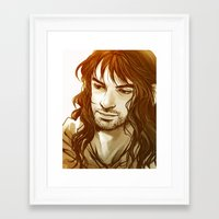 kili Framed Art Prints featuring Kili by lorna-ka