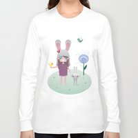 friendship Long Sleeve T-shirts featuring Friendship by Esther Ilustra