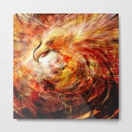 Firebird Metal Print