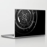 aperture Laptop & iPad Skins featuring Aperture by GiantEvilPizza