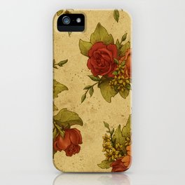 Antique Wallpaper 1 iPhone Case