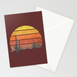 Runnin' Into The Sun Stationery Cards