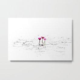 Lotus illustration Metal Print