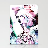 rave Stationery Cards featuring Rave by Vaia