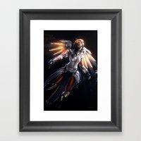 Mercy v2 Framed Art Print