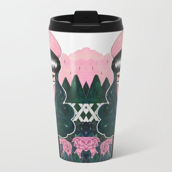 POISON IVY Metal Travel Mug