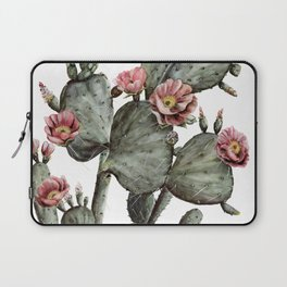 Prickly Pear Cactus Painting Laptop Sleeve