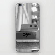 Paris crossing iPhone & iPod Skin