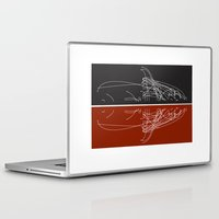 moby Laptop & iPad Skins featuring Moby Dating by Shelley Chandelier